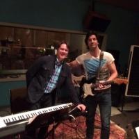Rehearsing with WSO Maestro Alexander Mickelthwate